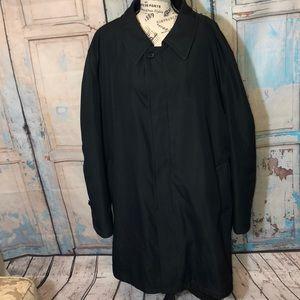 RAINFOREST Long Raincoat Zip Out Lining Mens